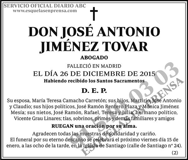 José Antonio Jiménez Tovar